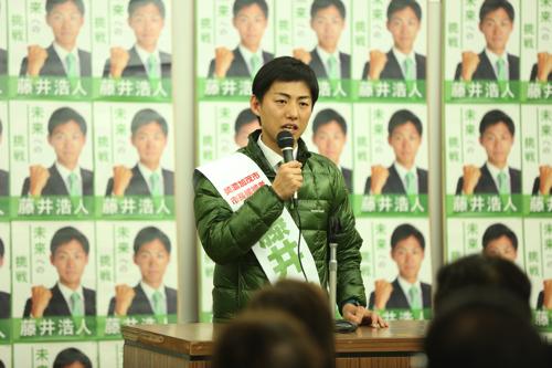 美濃加茂市長選挙7日目(1.28)