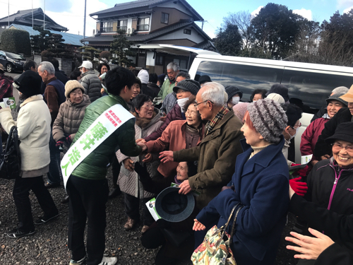 美濃加茂市長選挙2日目(1.23)