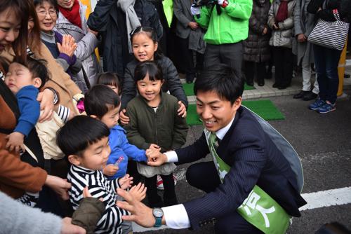 美濃加茂市長選挙初日